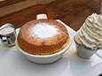 White Chocolate Soufflé